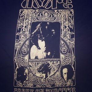 Other - The doors concert rock band t shirt